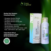 Shampo Herbal Untuk Rambut Rontok Green Angelica Buah Nisim Alami BPOM
