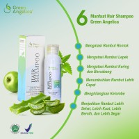 Shampo Herbal Untuk Rambut Rontok Green Angelica Bukan Nisim Suda BPOM