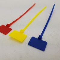 Maker TIE 3 WARNA PANDA 10cmx3mm Pengikat Kabel label /cable Ties