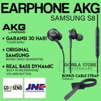 [NEW] Earphone Samsung S8 AKG ORIGINAL BERGARANSI Headset XIAOMI ASUS