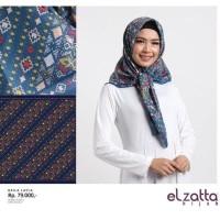 Jilbab Segi Empat Elzatta Motif Kaila Layla - Hijab Model Terkini