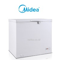 CHEST FREZEER MIDEA HS-390CKK 300 LITER Fast Freezer Switch Button
