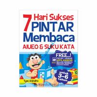 7 HARI SUKSES PINTAR MEMBACA AIUEO & SUKU KATA