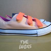 Sepatu Anak Tanpa Tali Original Converse All Star 656075C Size 35