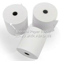 Kertas Thermal 80x80 untuk Printer Thermal contoh : EPSON TMT82, 88