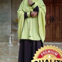 SETELAN GAMIS KHIMAR CADAR TALI JUBAH AKHWAT JILBAB KERUDUNG syari5