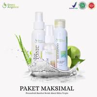 Paket Obat PENUMBUH RAMBUT BOTAK Licin Paket Maximal Green Angelica