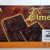 Elmer Chocolate Compound Dark Ghana 1kg