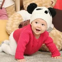 Topi bayi cute panda