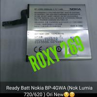 Batre Baterai Hp Nokia Lumia 720 620 BP-4GWA Original Ori Batterai Bat