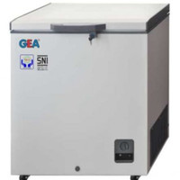 Chest Freezer Gea AB-106-R   Cooler box pendingin kulkas AB106R AB106