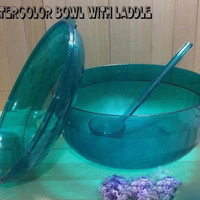 Watercolor Bowl / Wadah Sayur / Tempat Sop Buah Activity Tupperware