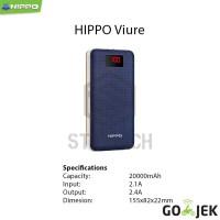 Jual Hippo Viure 20000 Mah Simple Pack Powerbank Murah