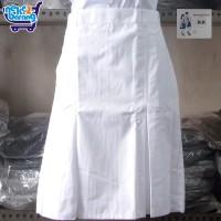Rok Pendek Span SMP Putih (Seragam Sekolah)