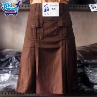 Rok Pendek Pramuka Saku Warna Coklat (Seragam Sekolah)