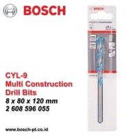 Harga sale cyl 9 mata bor multi konstruksi bosch 8mm 2 608 596 055 | Pembandingharga.com
