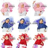 Jilbab Anak Jilbab Instan Anak Khimar Anak Keizha by Aishakids