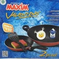 Maxim Valen Tino Set Wajan dan Teflon