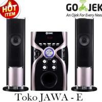 Sale! Gmc 887G Speaker Multimedia Aktif Ada Bluetooth Port Usb