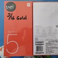 HP XAOMI REDMI 5 RAM 2/16 5'7 INCHI GARANSI RESMI TAM