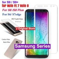 Anti Gores Depan Belakang Full Set Samsung S8 S8+ S7 S7 Edge S6 Edge