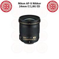 Lensa Nikon AF-S 24mm F1,8G ED Nikkor ; Nikon Wide Fixed Prime Lens