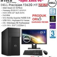DELL Precision T3620 MT Intel Xeon E3-1270v6/16GB/2TB/VGA2GB/WIN10PRO