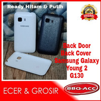 Case Samsung Galaxy Young 2 G130 Backdoor Back Door Casing Tutup Hp