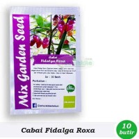 Jual Benih-Bibit Cabe Hias Fidalga Roxa (Mix Garden)