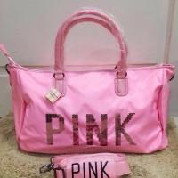 TAS Victoria Secret GYM BAG PINK KODE 004 ORIGINAL!