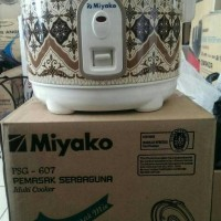 MIYAKO Rice Cooker Mini Serbaguna Penanak Nasi Kecil PSG-607 Batik