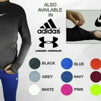 baju base layer manset dalam nike adidas underarmour panjang