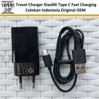 Charger XiaoMi Fast Charging INDONESIA MDY-08-DF Type C Original Tipe