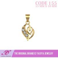 Liontin Emas permata Perhiasan imitasi Gold 18k Yaxiya Jewelry 155