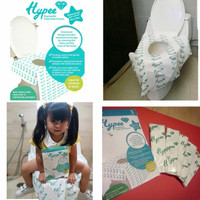 Toilet Seat Cover Disposable Alas Duduk Kloset Umum HYPEE