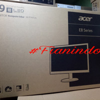 LCD monitor komputrr Acer 19 inch wide