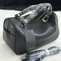 ZBM456 BLACK | Tas Zara Terbaru Travel Top Handle 2018 Original