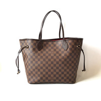 Tas Louis Vuitton Neverfull MM Damier Ebene Abb