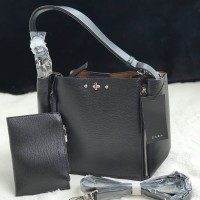 ZBM08 BLACK | Tas Zara Terbaru City Hobo 2018 Original