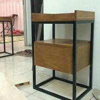 Harga promo side table rak laci rak laci salon rumah | Pembandingharga.com