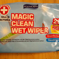 Magic Clean Wet Wiper Refill 25 sheet / Tisue Basah anti bacterial