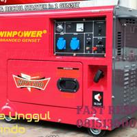 Genset Baru Winpower 5000 watt (WP7500)