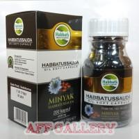 Habbatussauda Sehat Nabawi Oil Soft Capsule | Minyak Jintan 200 Kapsul