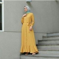 LAURA MUSTARD / GAMIS / DRESS MAXI / JUMPSUIT MUSLIM / HIJAB FASHION