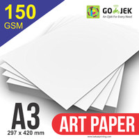 Kertas Printer Art Paper 150 gram Ukuran A3