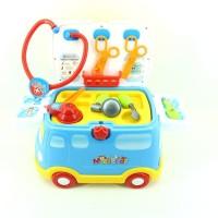 Mainan Edukasi Dokter-Dokteran Medical Vehicle 2 In 1 No. 661-171