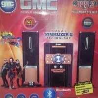 Sale! Gmc 885S Multimedia Speaker Aktif 125Wrms Subwoofer Karaoke