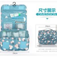 Termurah Terbaru Terbaik gantung toiletry kosmetik pouch bag organizer