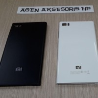 Backdoor Xiaomi 3 Mi3 5.0 inchi Housing Cover Back Case Tutup Blkg HP