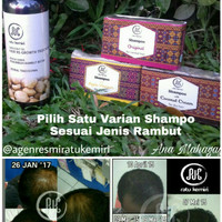 Paket Shampo Natural Minyak Kemiri Penumbuh Rambut Botak Ratu Kemiri